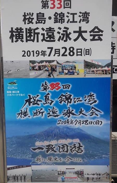 桜島錦江湾横断遠泳大会
