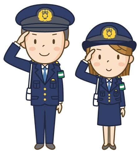 警察官のイラスト