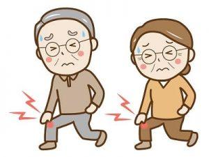 膝を曲げると痛みがありますか?